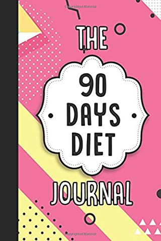 The 90 Days Diet Journal: Diet Tracker with BMI Chart Inside (Cute Little Pink Pastel)