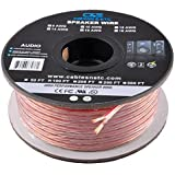 C&E CNE683904 16AWG Enhanced Loud Oxygen-Free Bare Copper Speaker Wire Cable (100 Feet/30.48 Metre, Copper)