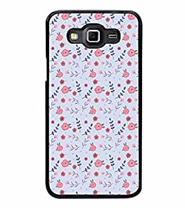 FABCASE Premium flowers roses multicolour flowertexture texture Printed Hard Plastic Back Case Cover for Samsung Galaxy Grand 3