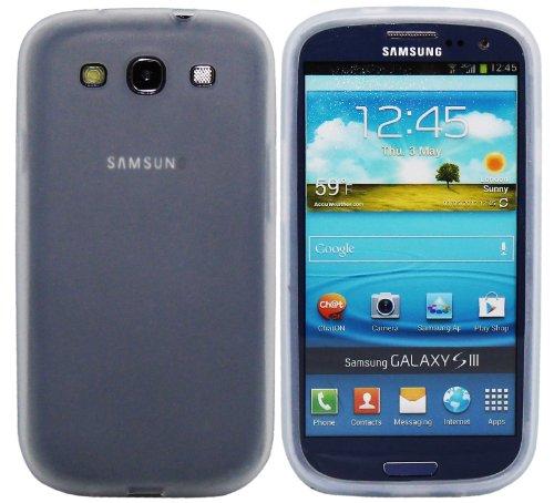 Luxburg In-Colour Design Custodia Cover per Samsung Galaxy S3 GT-I9300 colore trasparente, in silicone