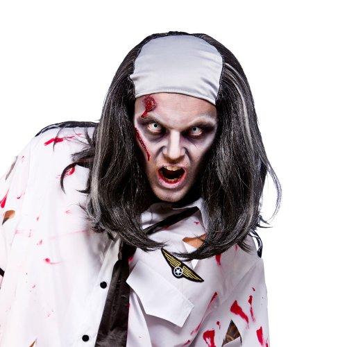 Freaky Zombie Wig (Bald Top) - Freaky Zombie Kostüm