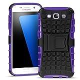 Samsung Galaxy S3 Outdoor Hülle Case in Lila Extra Schutz, Robuste Samsung Galaxy S3 Schutzhülle Handyhülle Cover Silikonhülle Rückschale