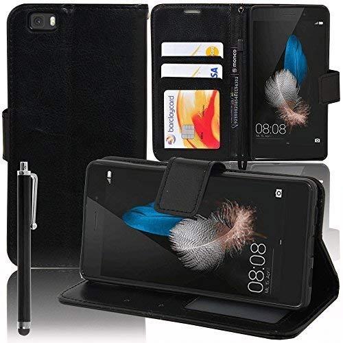 Funda carcasa cartera soporte Video libro tapa piel sintética efecto tejido...
