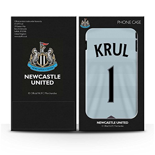 Offiziell Newcastle United FC Hülle / Case für Apple iPhone 6S / Lascelles Muster / NUFC Trikot Away 15/16 Kollektion Krul