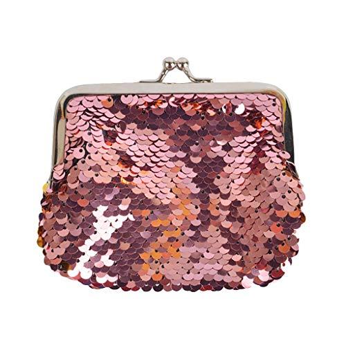 Pailletten-hobo Handtasche (DQANIU  Tasche Kind Mädchen Meerjungfrau Pailletten Geldbörse Mini Brieftasche Kleine Tasche)