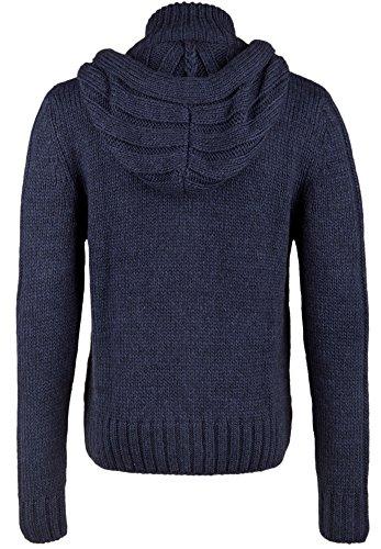 Better rich veste à capuche en tricot Bleu - Bleu marine