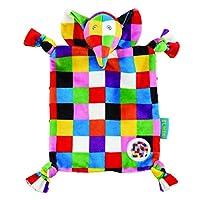 Rainbow Designs EL1448 Elephant Elmer Comfort Blanket