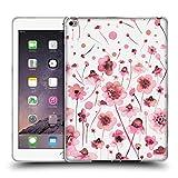 Head Case Designs Offizielle Ninola Soft Pink Blumen Botanisch 2 Soft Gel Hülle für iPad Air 2 (2014)