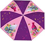 Trolls Hand Kinderschirm Taschenschirm für Schul-Ranzen und Rucksack 92cm Durchmesser