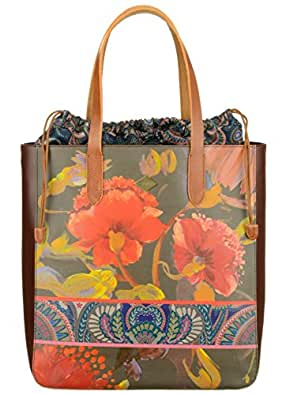 Oilily Magical Tote Bag Painted Flowers
