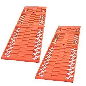 2x Good Ideas Car Van Rescue Wheel Tyre Traction Mats. Grip Track for Cars, Vans Snow Ice Mud Sand