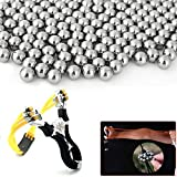 Pinkfishs KALOAD 100pcs 6mm Steel Balls Professional Steel Bearing Balls Slingshot Shooting Ammo Bullet -