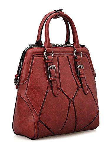 Keshi Pu Cool Damen Handtaschen, Hobo-Bags, Schultertaschen, Beutel, Beuteltaschen, Trend-Bags, Velours, Veloursleder, Wildleder, Tasche Mehrfarbig 4