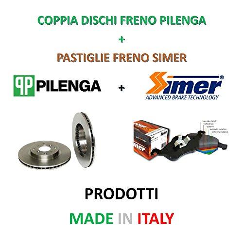 DISCHI FRENO BREMBO PASTIGLIE FERODO CODICE 6075031