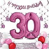 XXL Luftballons Geburtstag - Riesen Folienballon in 2 Größen 40