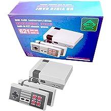 Consola Classic Mini Manija de control doble + salida HDMI- incorporada en 621 videojuegos retro