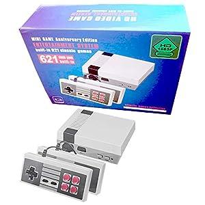 Classic Mini Consoles Dual-Controller-HDMI-Ausgang eingebaut 621 Retro Videospiel