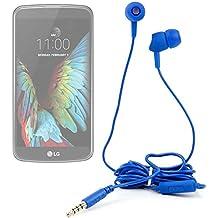 DURAGADGET Auriculares in ear con mando de manos libres para smartphone LG G350 , G5 , K10 , K3 , K4 , K5 , K7 3G , K7 LTE , K8 V , K8 , Optimus Zone 3 , P780