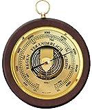 Barometer von Fischer, Serie Pascal, Holzgehäuse 170mm, Artikel 1436R-12, Made in Germany