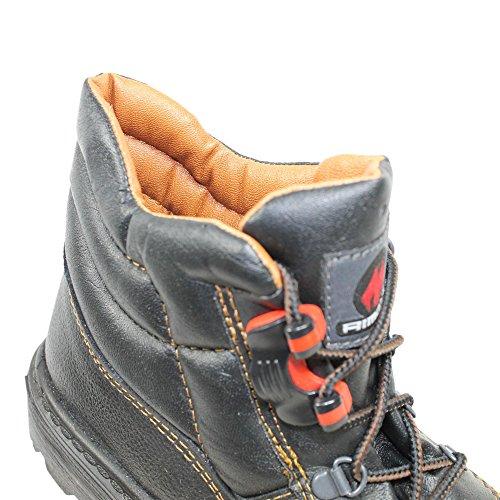 Aimont rocket s3 sRC chaussures berufsschuhe 00823 chaussures de haut Noir - Noir