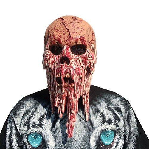 Bestoyard maschere halloween horror zombie costumi halloween adulti bambino halloween props
