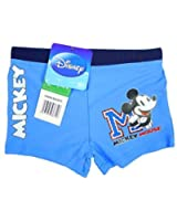Boys Disney Mickey Mouse Swim Boxer Style Swimming Trunks sizes from 3 to 8 Years