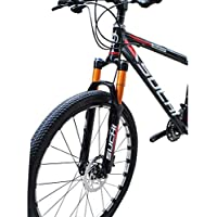 zyy Tenedor de suspensión, Control de Hombros Bicicleta de Bicicleta de montaña Ultraligero Quick Lock