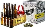 Saveur Bière - Kit de brassage complet - 4L de bière blonde + recharge - Tout pour brasser et déguster sa propre blonde - Idée cadeau 100% expérience