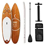Klarfit Downwind Cruiser, innovatives Double Layer Stand up Paddling SUP-Board, All inkl. Set, 305x10x77cm