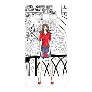 a AND b Designer Printed Mobile Back Cover / Back Case For Samsung Galaxy A5 (SG_A5_3D_407)