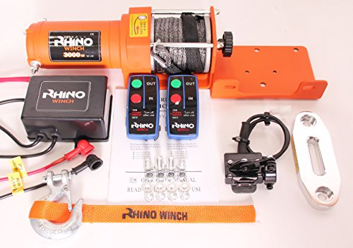 Rhino Treuil 12V 1360,8kilogram synthétique