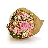 Bouquet Garden-Sanremo flores secas de la Riviera dei Fiori Italia con rosa preservado. (Rosa)