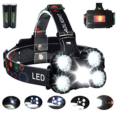 Linterna frontal LED Recargable de Trabajo