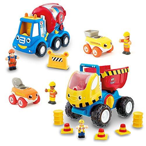 WOW Toys 10203 - Juego de escuadras de construcción