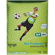 NPAV Net Protector Anti-Virus Pro 2017 - 1 PC, 1 Year (CD)