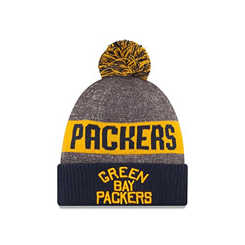 Bay Packers 2016 Classic Sport Knit Hat Heather Grey Size One Size (Green Bay Packers Uniform)