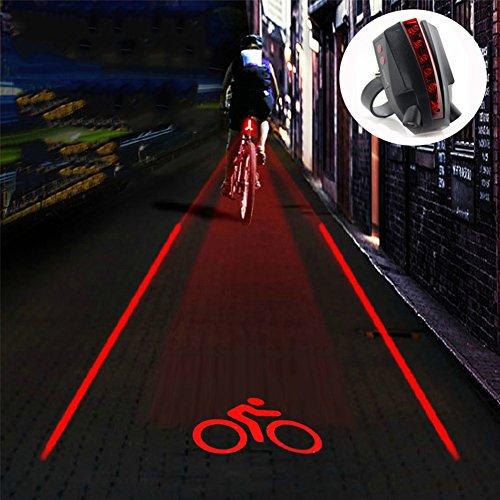 Nclon Luci per bicicletta Led,Fanalino Usb ricaricabile Ip65 impermeabile Creativo Personalità Multi-purpose Installazione facile Si adatta a tutte le moto Bici da strada-Fanalino 8x4x2.2cm(3x2x1inch)