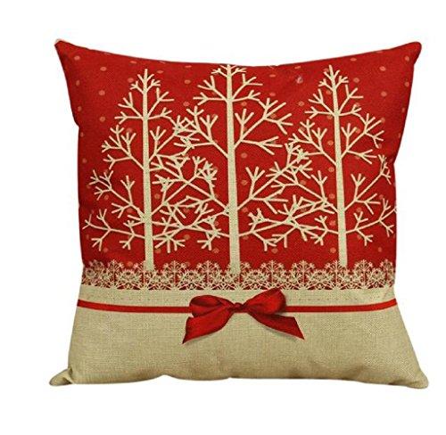 Federe,SW Vintage Christmas divano letto Home Decor cuscino cuscino caso