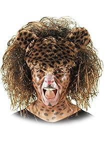 Carnival Toys Peluca Leopard para disfrazar animales musicales