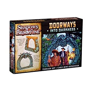 Flying Frog Productions FFP07-T01 Puertas en la Oscuridad: Sombras de Brimstone Exp, Multicolor