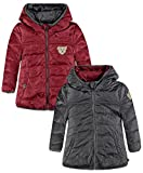 Steiff Collection Jungen Jacke Anorak Wendbar, Rot (Garnet 2224),104