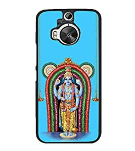 Fiobs High Glossy Designer Phone Back Case Cover HTC One M9 Plus :: HTC One M9+ :: HTC One M9+ Supreme Camera ( Kerala Guruvayur Krishana )