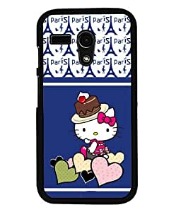 Fuson 2D Printed Cartoon Designer back case cover for Motorola Moto G - D4438