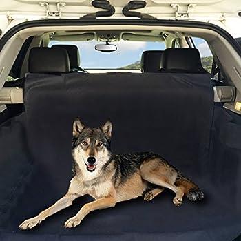 [Housse Voiture SUV pour Chien] VANWALK 155x104x33 CM Housse Voiture Chien/Housse de Protection/Tapis de Coffre Imperméable Convient pour SUV.