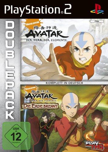 Preisvergleich Produktbild Avatar - Der Herr der Elemente + Die Erde brennt (Doppelpack)