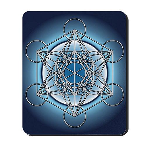 CafePress Metatrons cubo Mousepad estándar - Multi-color
