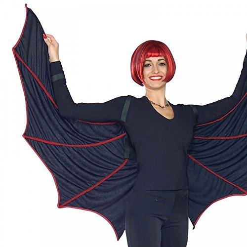 ür Erwachsene Schwarz/Rot Halloween Vampir Kostüm Zubehör Dracula ()