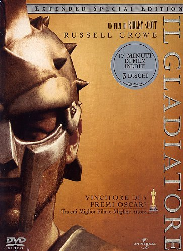 Il gladiatore(3 DVD extended special edition)