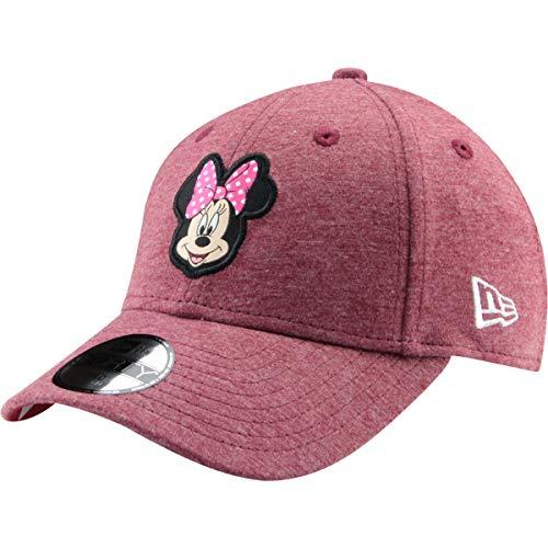 New Era Kinder Jungen Baseball Cap Mütze 940 Strapback Minnie Mouse Character Jersey Kids Minmou SCA Rot
