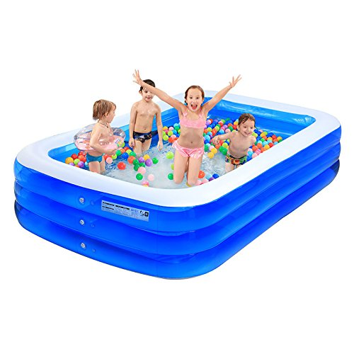 ASL Piscine gonflée surdimensionnée Grande piscine de jeu à la maison Piscine de sable Piscine de famille Pli extérieur Enfant Piscine plus épaisse Piscine pour adultes Bains de piscine Bain Cylindre Bain Pots Nouveau ( Size : 265*175*60CM )